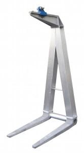6000 - crane attachments, crane pallet forks, pallet lifter, pallet forks, aluminum
