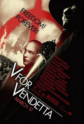 v for vendetta poster 2 V for vendetta; the ethics of terror