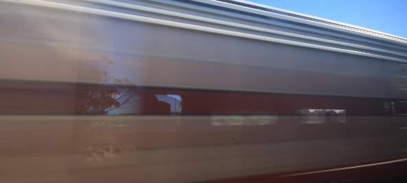 The Ghan train