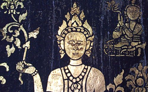 Lord Buddha LuangPrabang Laos The Buddhist Wallpaper Collection