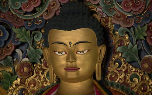 Tibetan Idol India The Buddhist Wallpaper Collection