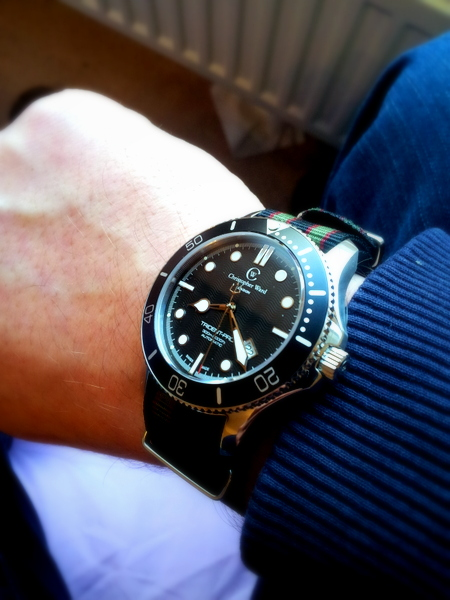 1 20120223 080822 001 Christopher Ward C60 Trident Bond Review