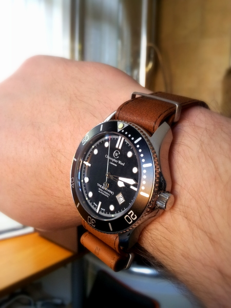 1 20120223 151404 Christopher Ward C60 Trident Bond Review