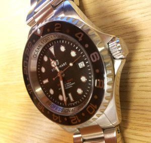 20120712 113057 300x283 For Sale: Steinhart Forty Four GMT Black