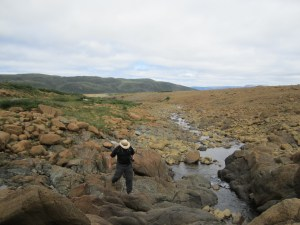 David Exploring The Tablelands