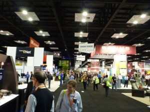 The CEDIA Trade Show Floor