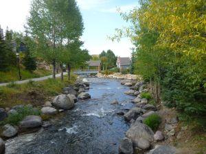 The River That Runs Through The Town Of Breckenridge, Colorado
