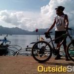 Biking in Coron, Palawan