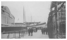 Photograph taken at the 1951 Festival of Britain. The 'Skylon' tower is just off centre. I always though it was a yacht mast! Credit to the original photographer