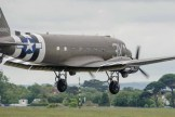 D Day 70th Commemoration gathering at the former HMS Daedalus Airfield at Lee on the Solent