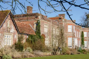 Hinton Ampner on a bright winters day, February 2015