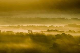 Autumn Equinox sunrise across the Meon Valley in 2015