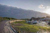 Bank of cloud approaching Titchfield Haven Harbour