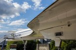 Delta wing of Concorde G-BBDG