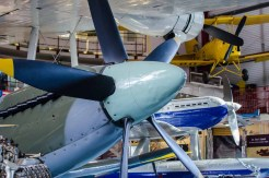 Spitfire exhibit PK683 at Solent Sky Museum