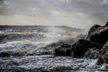 Storm Doris at Lee on the Solent