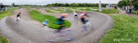 Gosport BMX Club track on the edge of the Alver Valley