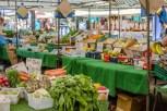 Fruit and veg stall at Fareham Market
