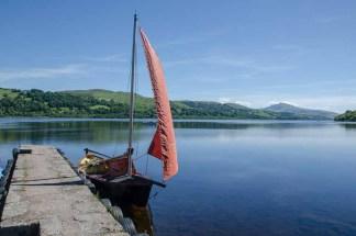 Bala Lake on the edge of Snowdonia National Park