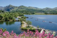 Llyn Padam, Llanberis in Snowdonia National Park