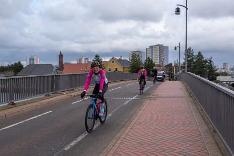 Cycle for Sophie, Haslar Bridge, Gosport