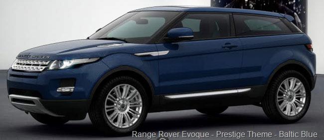 Range Rover Evoque Baltic Blue Paint Colors » OV...