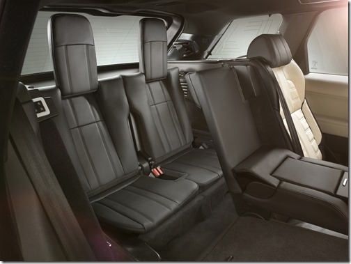 2014 Range Rover Sport brings 7 seats or really 5 seats and 2
