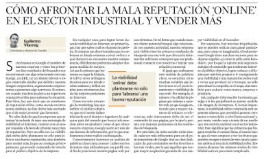 Reputación online - Overalia - El Economista