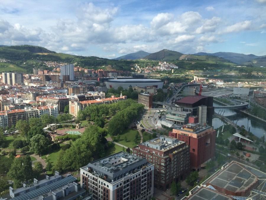 Vistas desde la Torre Iberdrola