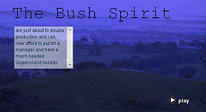 the bush spirit