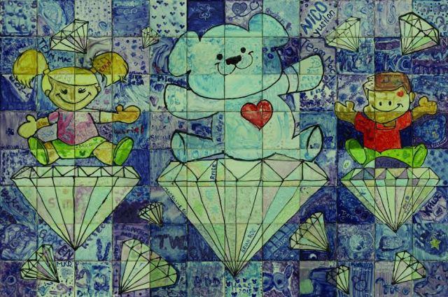 CHOC-Childrens-Diamond-Celebration-Mural