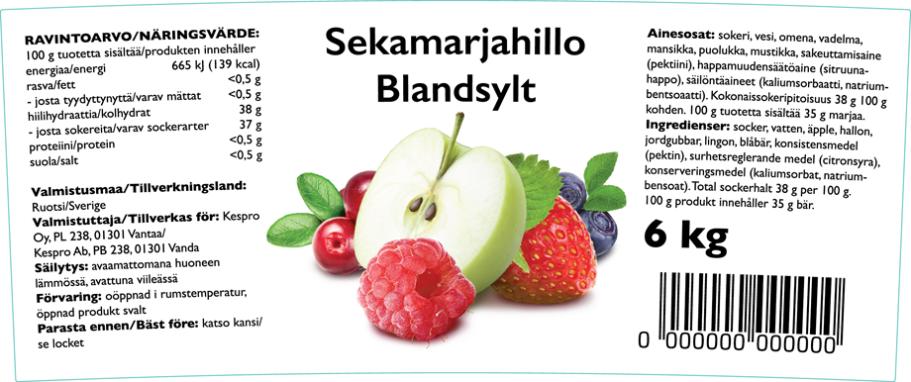 Blandsylt