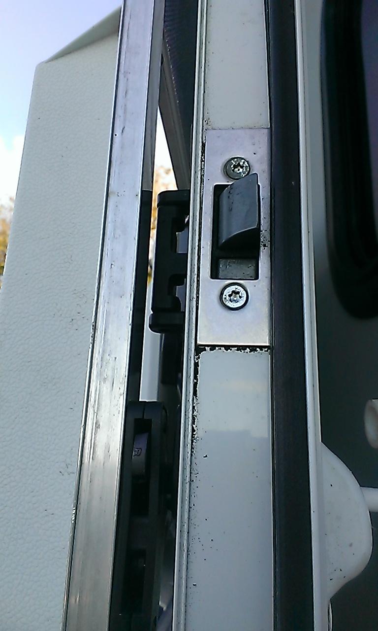 Caravan Door Lock Replacement After Keys Lost