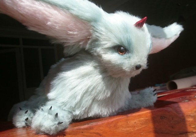 Final Fantasy XV carbuncle plush