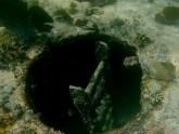 Belize, Caye Caulker: Einstieg in das Wrack