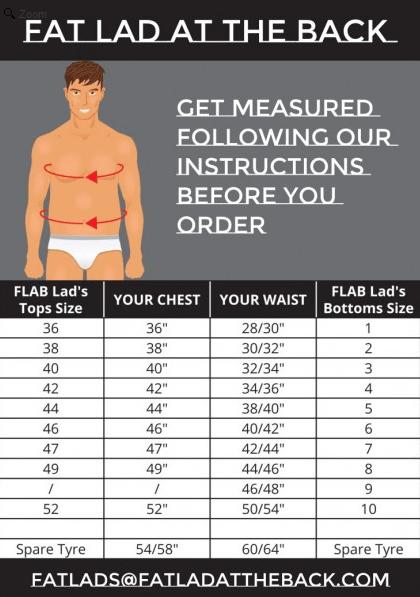 flab size