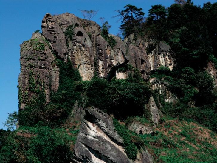 大谷の奇岩群