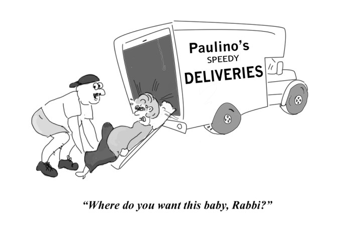 Paulino deliveries delivers a Hasidic woman's baby