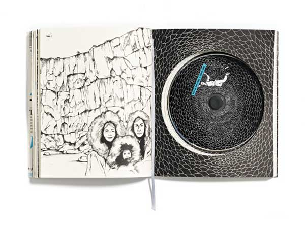 Chris Tarry's album packaging