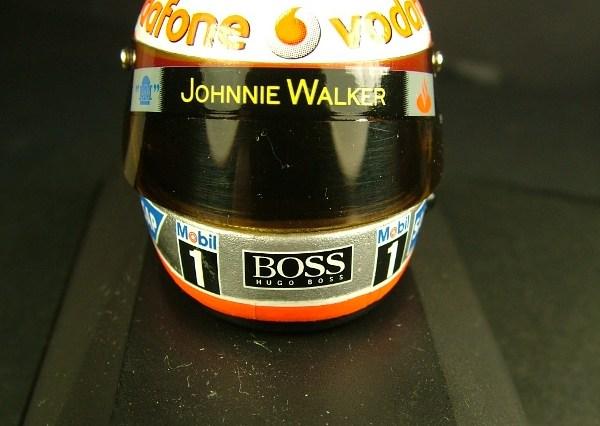 Fernando Alonso 1/8 helmet McLaren 2007