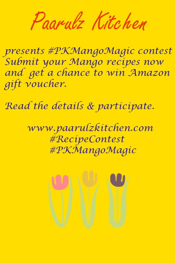 Final mango Magic Contest poster