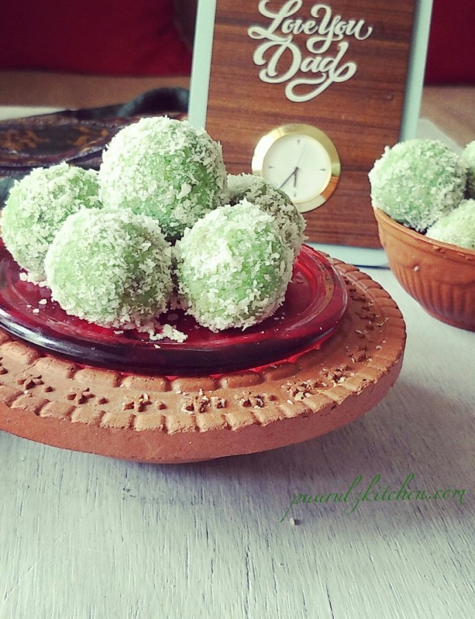 Paan Coconut Ladoo With Gulkand Stuffing