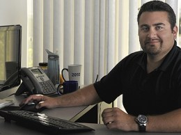 Alex Minicucci, CEO of San Luis Obispo-based SMS Masterminds. (Business Times file photo)