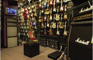Westlake Village-based music gear retailer Guitar Center has more than 250 stores around the country. (Guitar Center media/courtesy photo)