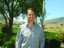 John H. Niven, vice president of sales and marketing for the Niven Family Wine Estates in Edna Valley.