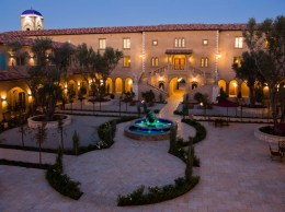 The Allegretto Vineyard Resort in Paso Robles has 171 guest rooms, a spa and extensive event spaces nestled on 20 acres.