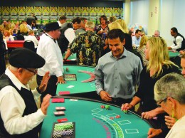 A casino night May 21 raised funds for the Gold Coast Veterans Foundation.