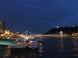 Elizabeth Bridge and the Citadella at night