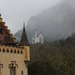 The Neuschwanstein from the Hohenschwangau Castle