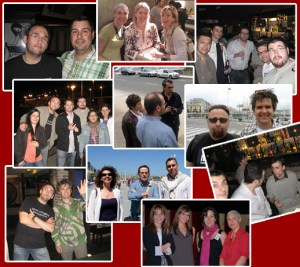 blog and night. Internet Meeting Point 2010